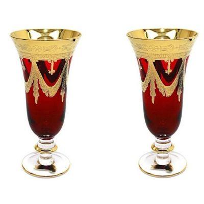 italian wedding champaign flutes