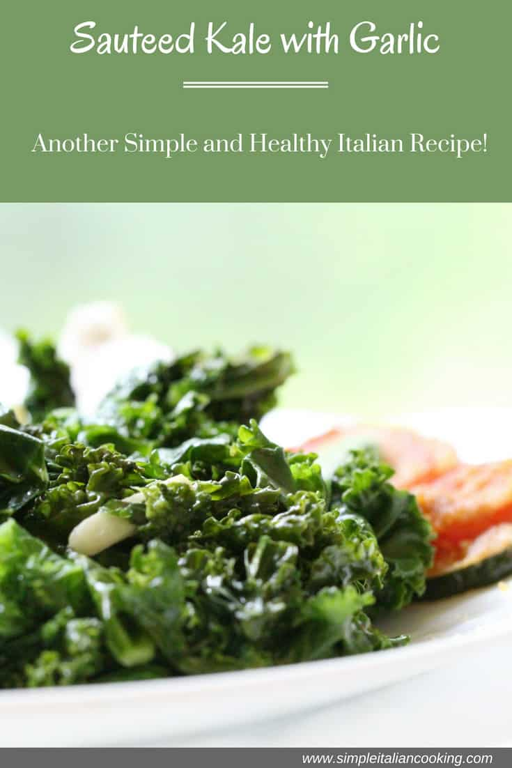how to make sauteed kale with garlic recipe