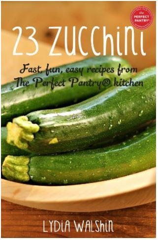 23 zucchini cookbook