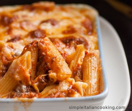 easy Italian baked pasta recipe