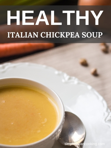 blended chickpea soup recipe