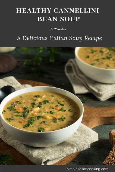 cannellini bean soup recipe