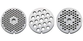 waring pro meat grinder plates