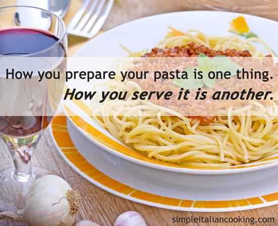 Italian Pasta Bowls