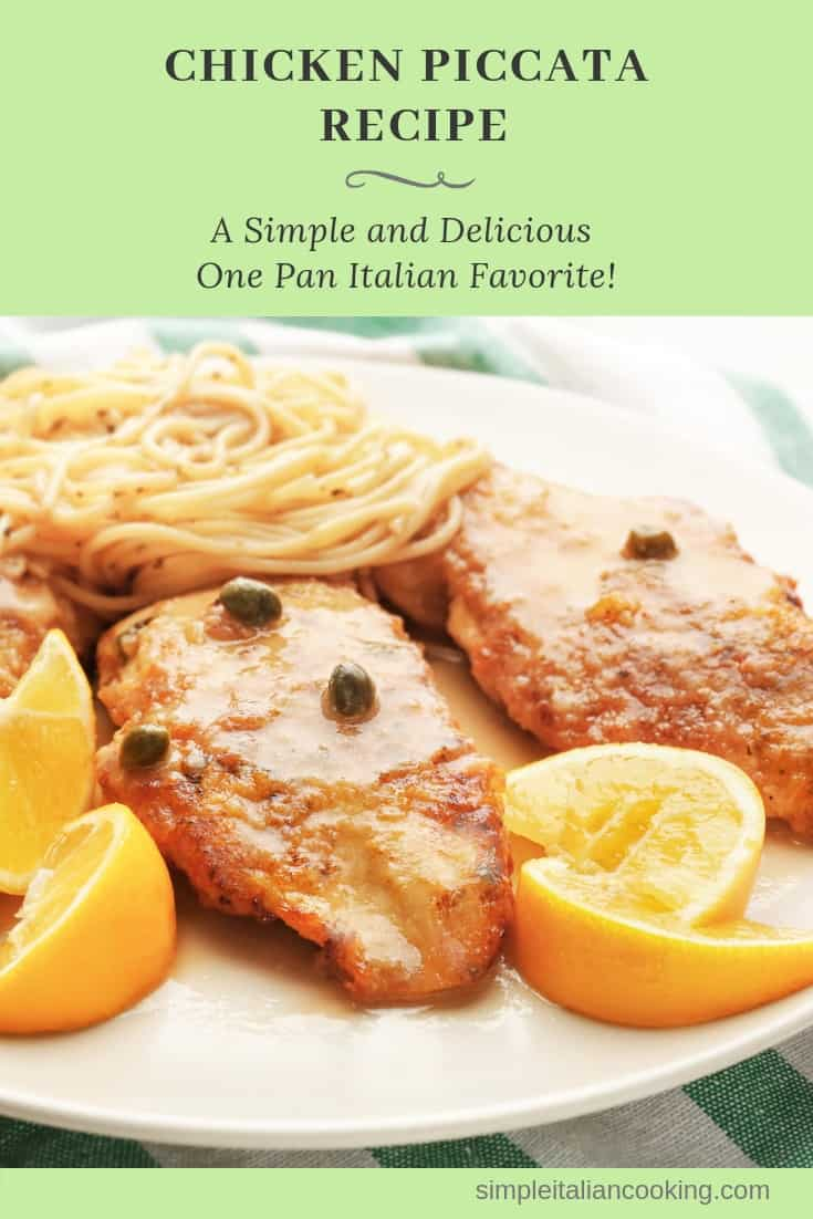 How to Make a Simple and Easy Italian Chicken Piccata