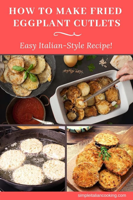 how to make fried eggplant cutlets