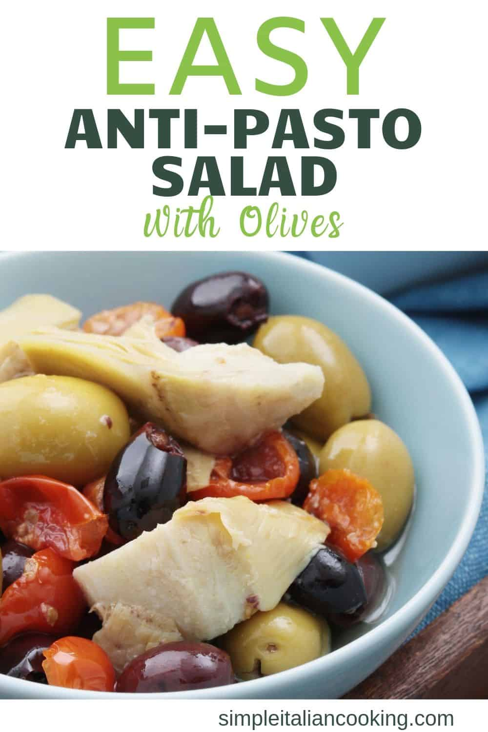 How to Make a Simple Italian Antipasto Salad