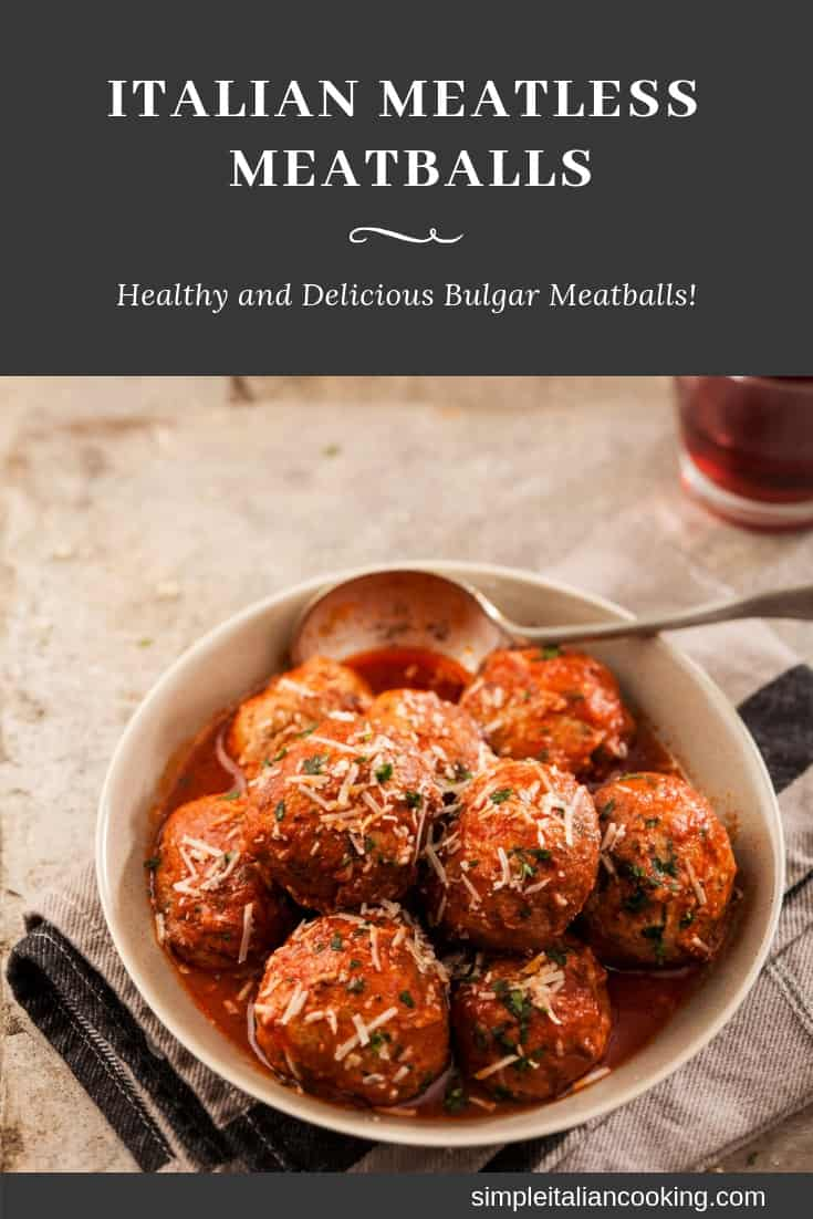 How to Make Amazing Italian Meatless Meatballs