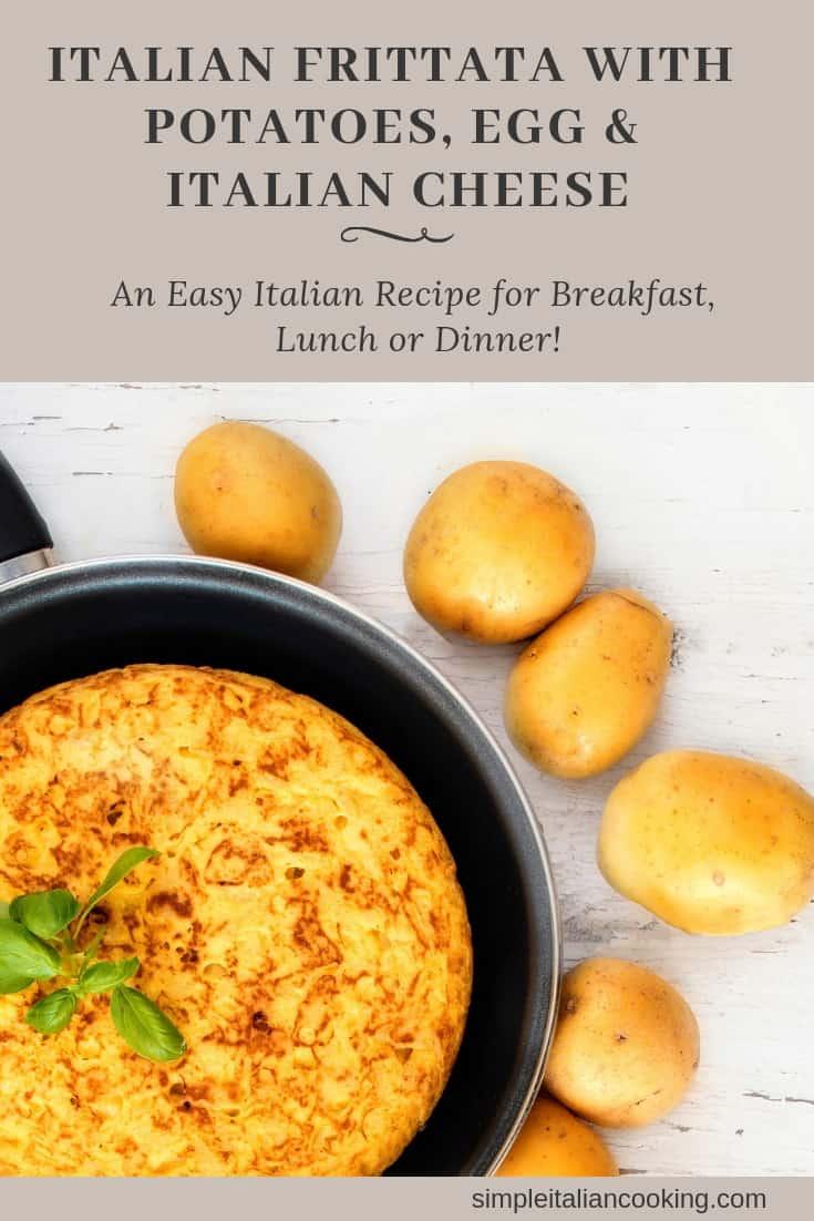 Recipe for How to Make an Easy Italian Potato Frittata