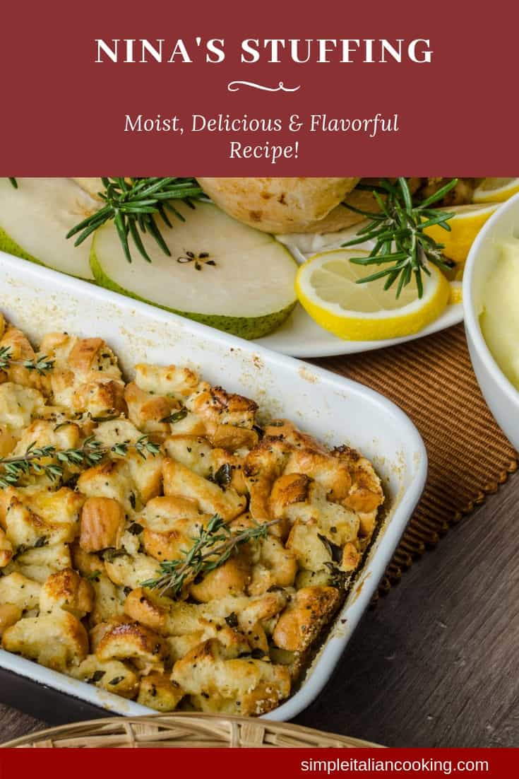 How to Make Nina\'s Famous Italian Stuffing