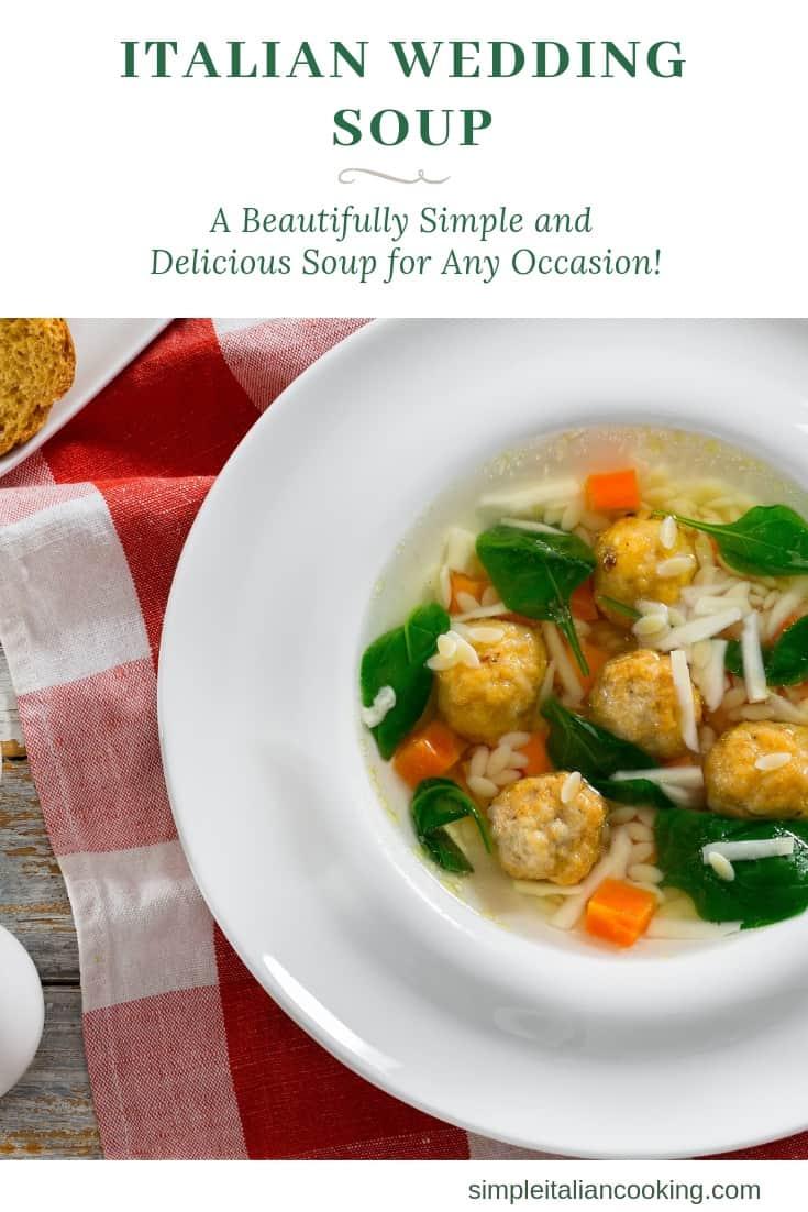 How to Make Italian Wedding Soup