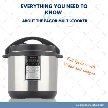Fagor multicooker review