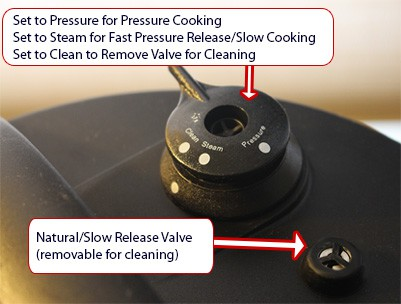 fagor pressure valve settings