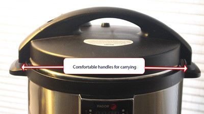 Fagor multicooker handles