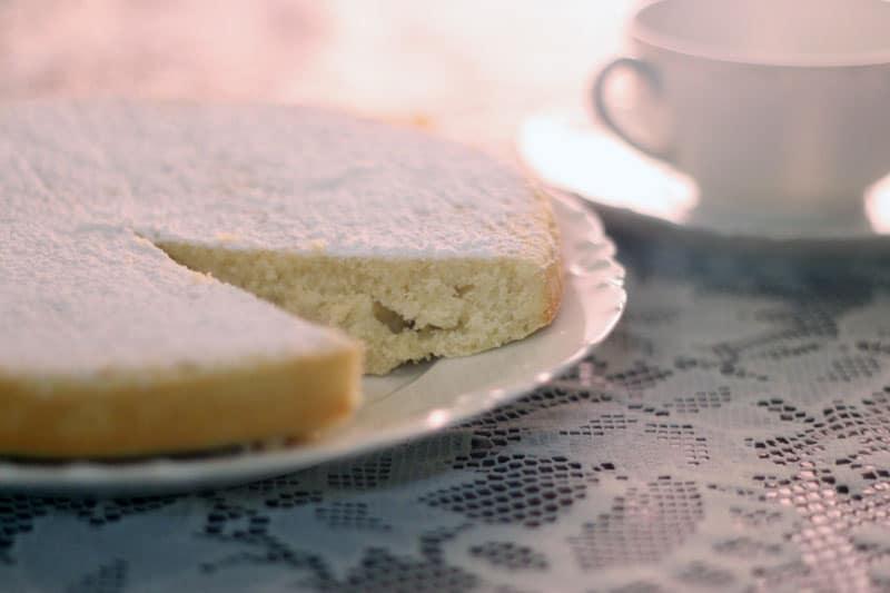 Italian Lemon Cake Dessert Recipe