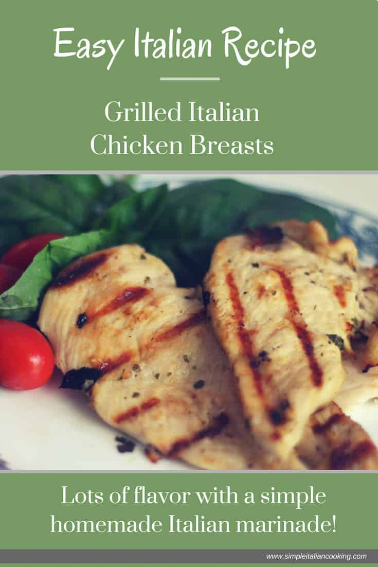 How to Make Italian Dressing Marinade for Grilled Chicken Breasts