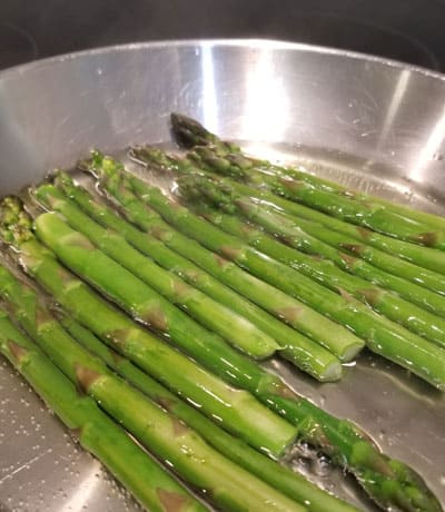 Simple Italian Recipe For Asparagus With Balsamic Vinegar