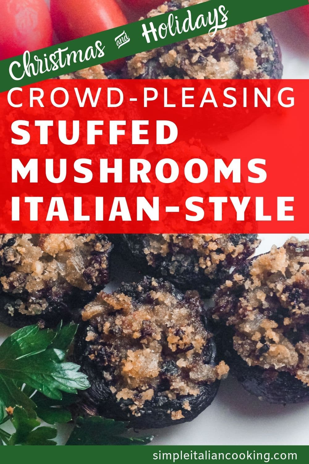 How to Make Italian Stuffed Baby Mushrooms