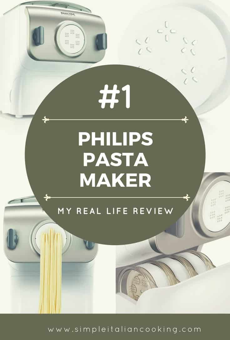 My Real Life Review, Why I Love My Philips Pasta Maker and Machine