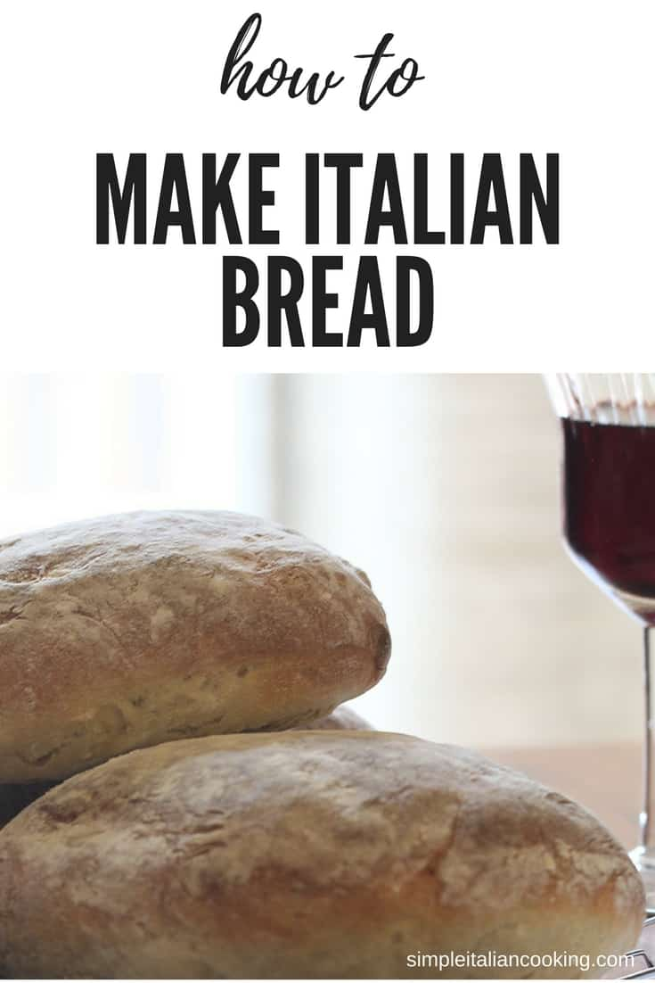 Recipe for How to Make Authentic Italian Fresh Bread