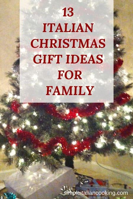 Christmas Giving Tree Ideas.13 Italian Gift Ideas For Your Family Simple Italian