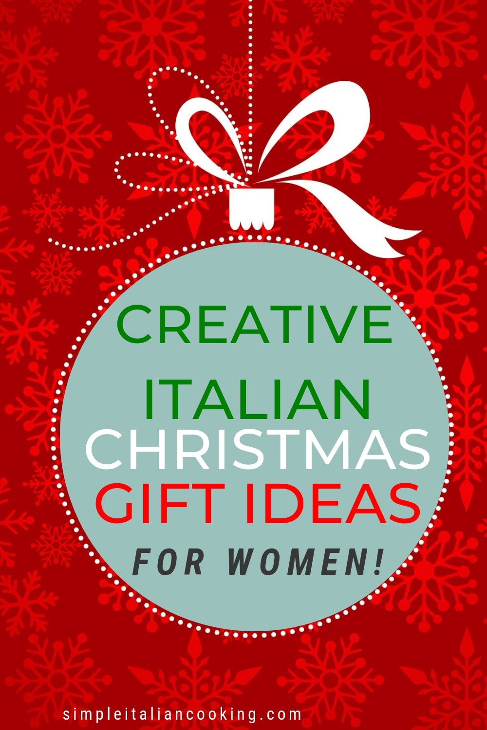 Creative and unique Italian gift ideas for the special women in your life! Whether your wife, girlfriend, mother or even sisters, here are some Italian-inspired ideas perfect for Christmas! #italiangiftideas #italiangiftsforher #italiangifts #italianchristmasgifts #christmasgiftsforher