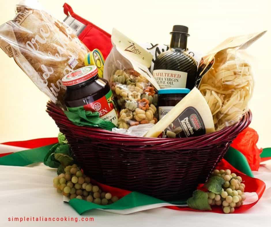 Italian Gift Basket Ideas for Christmas