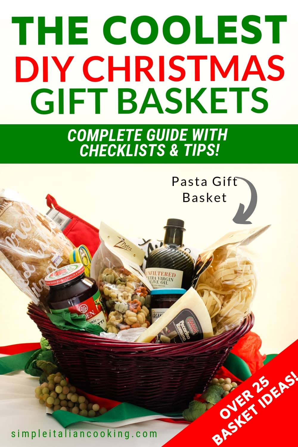 Italian Gift Basket Ideas: The Ultimate Guide for Christmas & Beyond