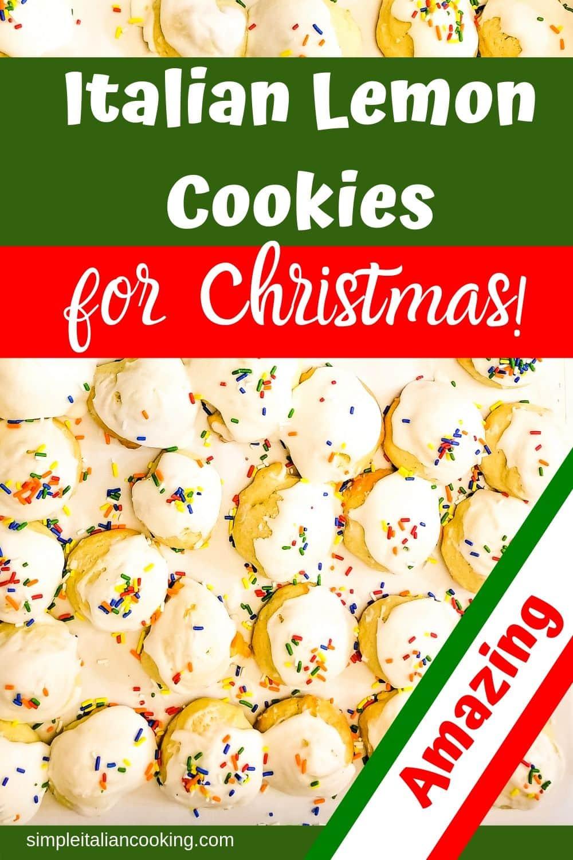 Anginetti Italian Lemon Cookies Recipe