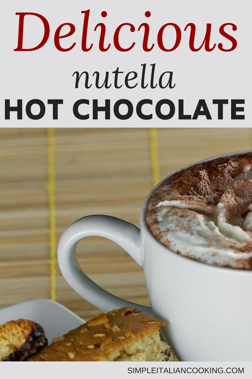Quick Italian Hot Chocolate