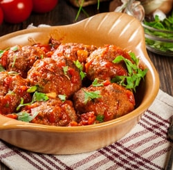 Easy All Beef Meatballs Recipe