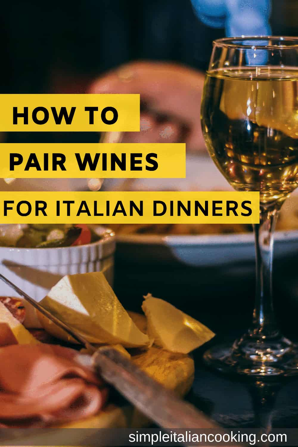 Confused with which wine goes with what food?  Here are some tips that show you how to ALWAYS know which wine pairs with your food, whether Italian food or any other kind.  Learn the secrets to proper wine pairing!  #winepairing #italianwine #italianfoodandwine #pairingwine #wineandfood