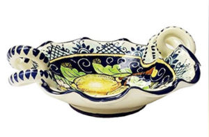 beautiful ceramiche italian serving bowl