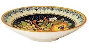 ceramiche serving bowl side view