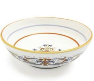 italian serving bowl