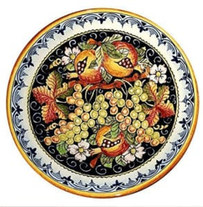 Beautiful Handmade Pasta Bowl Italy