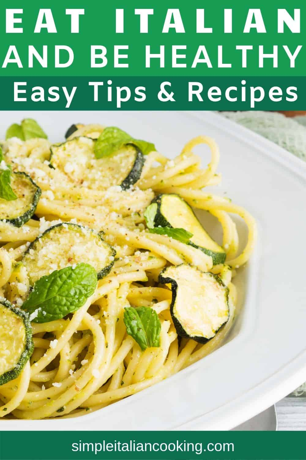 Learn how to enjoy Italian cooking and be healthy at the same time!  Enjoy the secrets to healthy Italian recipes and enjoy your Italian dinners without guilt! #healthyitalian #healthyitalianrecipes #italiandinners #italianrecipes