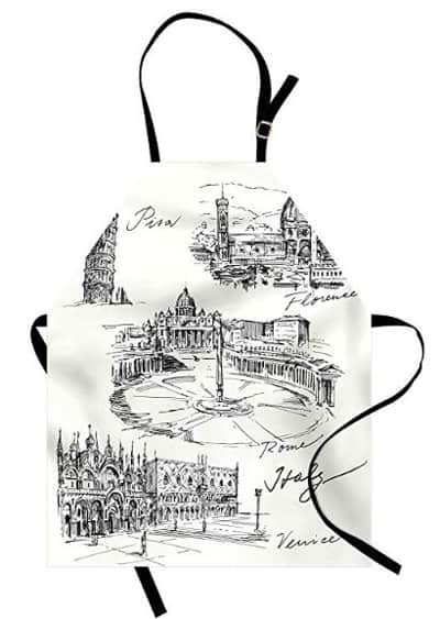 Italian apron for women