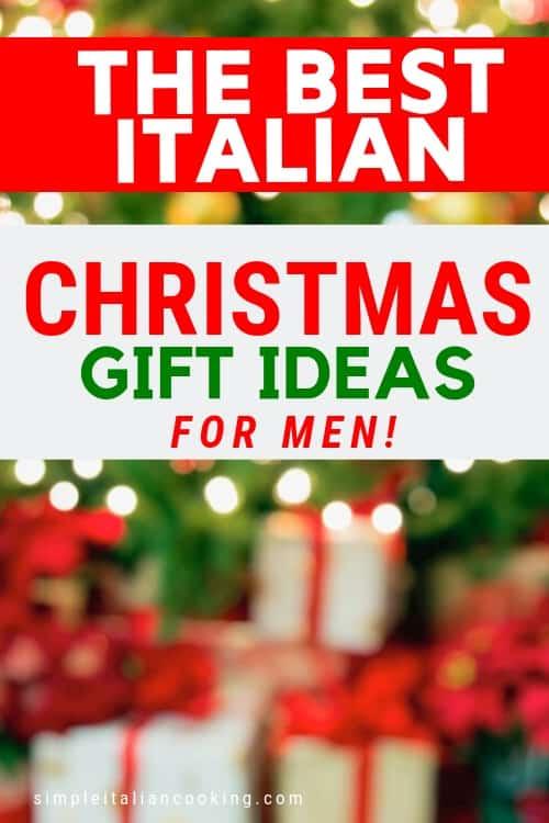 Italian christmas ideas for men
