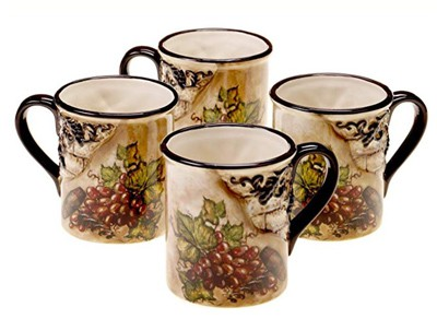 italian style coffee mugs