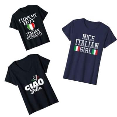 Italian tee shirts for women