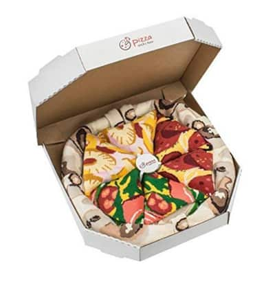 Italian pizza box socks