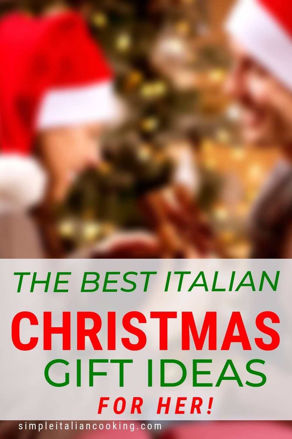 Italian Gift Ideas for Women