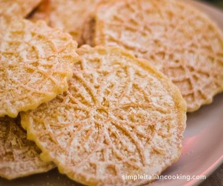 Homemade Italian Pizzelles