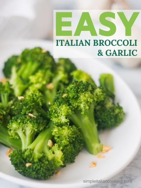 broccoli and garlic side dish recipe