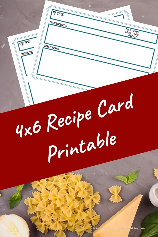 4x6 recipe card printable pin (2)
