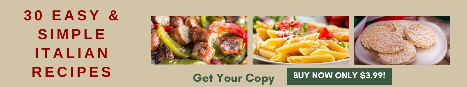 30 easy & simple italian recipes ecookbook